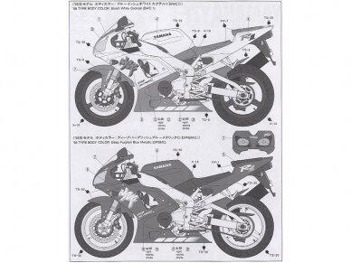 Tamiya - Yamaha YZF-R1, Scale: 1/12, 14073 6