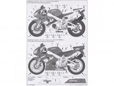 Tamiya - Yamaha YZF-R1, Mastelis: 1/12, 14073 7