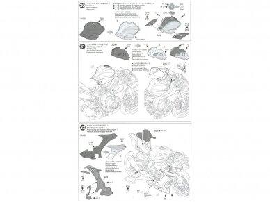 Tamiya - Yamaha YZF-R1M, Mastelis: 1/12, 14133 20