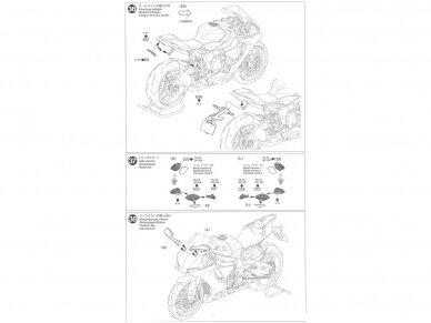 Tamiya - Yamaha YZF-R1M, Mastelis: 1/12, 14133 22