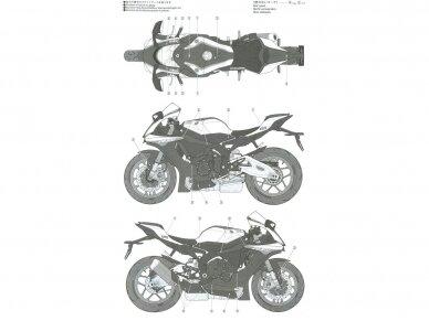 Tamiya - Yamaha YZF-R1M, Mastelis: 1/12, 14133 10