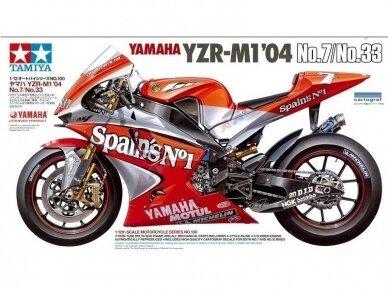 Tamiya - Yamaha YZR-M1 '04 No.7/No.33, Scale: 1/12, 14100