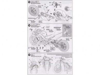 Tamiya - Yamaha YZR-M1 '04 No.7/No.33, Mastelis: 1/12, 14100 15