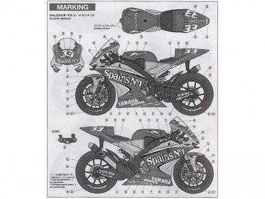 Tamiya - Yamaha YZR-M1 '04 No.7/No.33, Scale: 1/12, 14100 8
