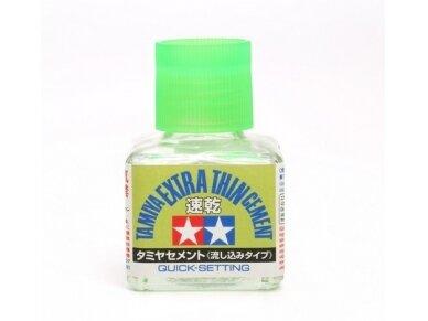 Tamiya - Extra Thin Cement - 40ml (Quick-Setting), 40ml, 87182