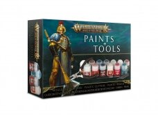 Warhammer Age of Sigmar Paints & Tools Set, 80-17