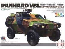 Tiger Model - French Army PANHARD VBL Light Armoured Vehicle, Mastelis: 1/35, 4603