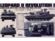 Tiger Model - German Main Battle Tank Leopard II Revolution I, Scale: 1/35, 4629