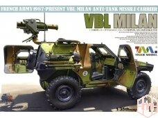 Tiger Model - French Army 1987-Present VBL Milan Milan Anti-Tank Missile Launcher, Mastelis: 1/35, 4618