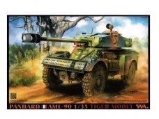 Tiger Model - Panhard AML-90 Light Armoured Car full-interior, Mastelis: 1/35, 4635