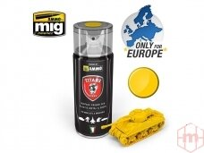 TITANS HOBBY - IMPERIAL YELLOW MATT PRIMER 400ml, 104