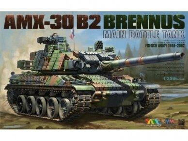 Tiger Model - French Army 1966-2002 AMX-30 B2 BRENNUS, 1/35, 4604