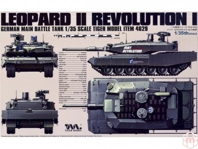 Tiger Model - German Main Battle Tank Leopard II Revolution I, 1/35, 4629