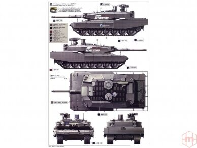Tiger Model - German Main Battle Tank Leopard II Revolution I, 1/35, 4629 5