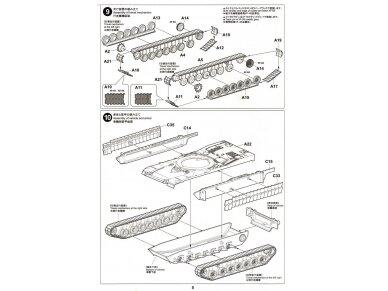 Tiger Model - M1A2 SEP TUSK II Abrams U.S. Main Battle Tank, Mastelis: 1/72, 09601 11
