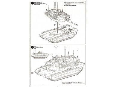 Tiger Model - M1A2 SEP TUSK II Abrams U.S. Main Battle Tank, Mastelis: 1/72, 09601 12