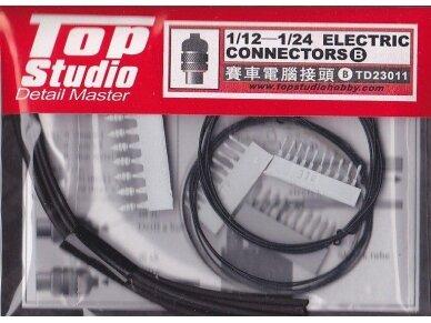 Top Studio - 1:12 /1:24 Electrical Connectors Set B TD23011