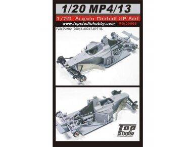 Top Studio - Pilnas detalumo komplektas McLaren MP4/13 Mercedes, Mastelis:1/20, MD29008 2