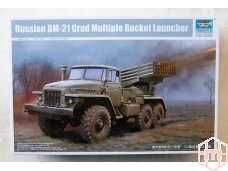 Trumpeter - BM-21 Grad Multiple Rocket Launcher, Scale: 1/35, 01028