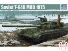 Trumpeter - Soviet T-64B MOD 1975 , Mastelis: 1/35, 01581
