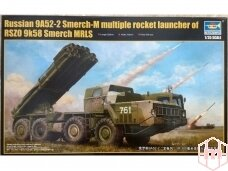 Trumpeter - Soviet 9A52-2 Smerch-M Multiple Rocket Launcher, 1/35, 01020