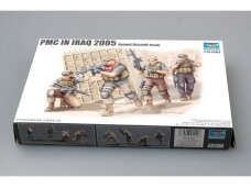 Trumpeter - PMC in Iraq 2005 Armed Assault team, Scale: 1/35, 00419