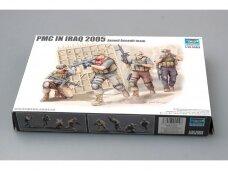 Trumpeter - PMC in Iraq 2005 Armed Assault team, Mastelis: 1/35, 00419
