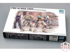 Trumpeter - PMC in Iraq 2005 VIP Security guards, Mastelis: 1/35, 00420