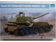 Trumpeter - Soviet 2S3 152 mm Self-propelled Howitzer, Scale: 1/35, 05567