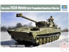 """Trumpeter - 2S34 """"Hosta"""" SPH, Scale: 1/35, 09562"""