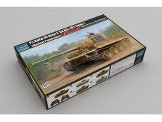 Trumpeter - Pz.Kpfw. VI Ausf. E Sd.Kfz. 181 Tiger I (Medium Production) w/ Zimmerit, 1/35, 09539