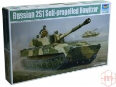 Trumpeter - Russian 2S1 Self-propelled Howitzer , Mastelis: 1/35, 05571