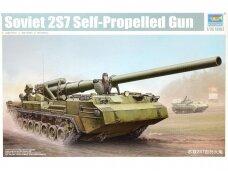 Trumpeter - Soviet 2S7 Self-Propelled Gun, Scale: 1/35, 05593