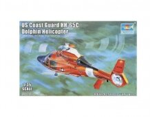 Trumpeter - US Coast Guard HH-65C Dolphin Helicopter, Scale: 1/35, 05107