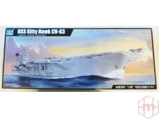Trumpeter - USS Kitty Hawk CV-63, Mastelis: 1/350, 05619