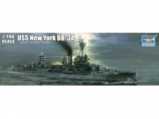 Trumpeter - USS New York BB-34 Battleship, Scale: 1/700, 06711