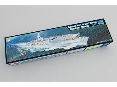 Trumpeter - Aircraft Carrier DKM Peter Strasser, Scale: 1/350, 05628