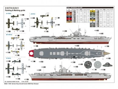 Trumpeter - Aircraft Carrier DKM Peter Strasser, Scale: 1/350, 05628 2