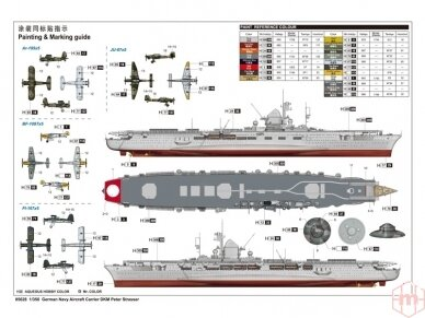 Trumpeter - Aircraft Carrier DKM Peter Strasser, Scale: 1/350, 05628 2