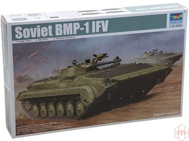 Trumpeter - Soviet BMP-1 IFV, Scale: 1/35, 05555