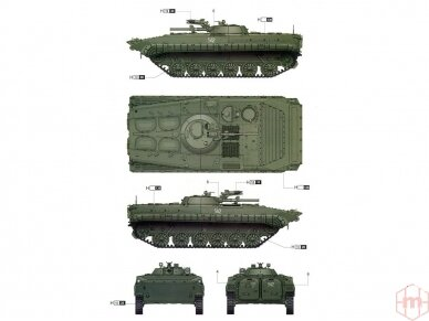 Trumpeter - Soviet BMP-1 IFV, Mastelis: 1/35, 05555 5