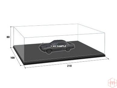 Trumpeter - Display case, for 1/24 scale kits, 09817 3