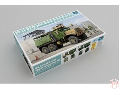Trumpeter - US MK23 MTVR MAS Truck, Scale: 1/35, 01080
