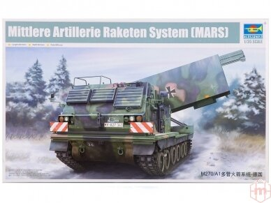 Trumpeter - Mittleres Artillerie Raketen System (MARS), Mastelis: 1/35, 01046