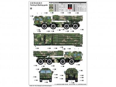Trumpeter - PHL-03 Multiple Launch Rocket System, Mastelis: 1/35, 01069 3