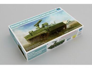 Trumpeter - Russian 9P157-2 Khrizantema-S Anti-tank system, 1/35, 09551