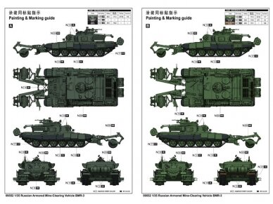 Trumpeter - Russian Armored Mine-Clearin, Mastelis: 1/35, 09552 3