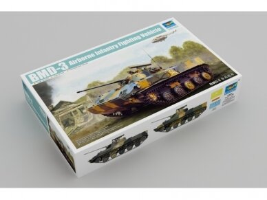 Trumpeter - Russian BMD-3 Airborne Fighting Vehicle, 1/35, 09556
