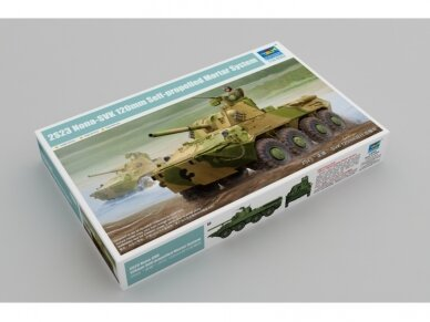 Trumpeter - Nona-SVK 120mm Self-propelled Mortar System, 1/35, 09559
