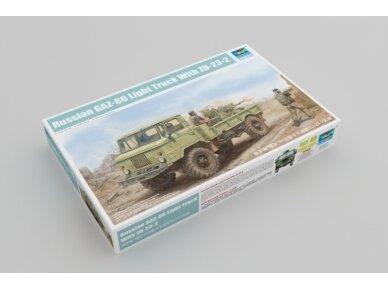 Trumpeter - Russian GAZ-66 Light Truck I, Scale: 1/35, 01017